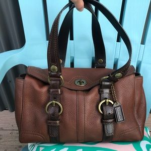 Coach Chelsea soft leather tote